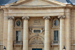 Paris University- Faculty of Law Royalty Free Stock Photo