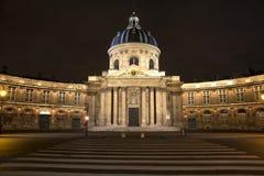 Paris university at night Royalty Free Stock Photo