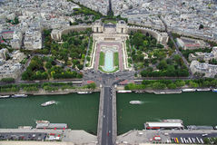 Paris - up view Stock Photography