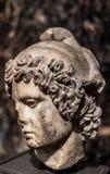 Paris vän av Helen av Troy Statue Royaltyfri Bild