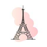 Paris vector illustration Stock Image
