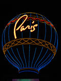 Paris Vegas Royaltyfri Fotografi