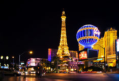 Paris in Vegas Stock Photo