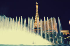 Paris Vegas, Nevada Arkivbild