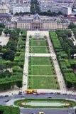 Paris verde foto de stock