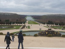 Paris - Versailles (Garden) Stock Images