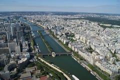 Paris. Viev on Paris in France stock photos