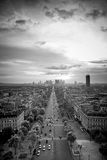 Paris - a view Stock Photos