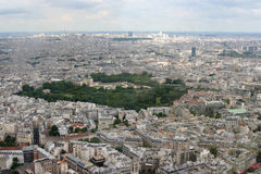 Paris view Stock Images