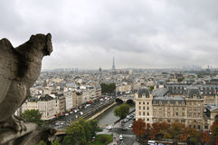 Paris view Royalty Free Stock Images