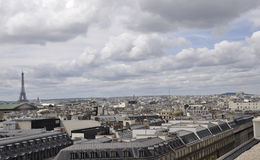 Paris,View from above Royalty Free Stock Photography