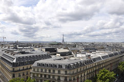 Paris view from above Stock Photos