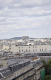 Paris view from above Royalty Free Stock Photography