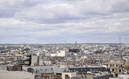 Paris,view from above Royalty Free Stock Photos
