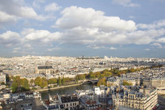 Paris, view of the city Stock Images
