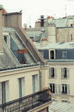 Paris. View of the city roofs Stock Images