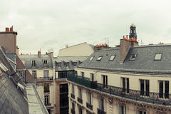 Paris. View of the city roofs Stock Image