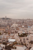 Paris. View of the city roofs Royalty Free Stock Images