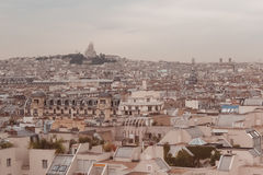 Paris. View of the city roofs Royalty Free Stock Photography