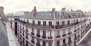 Paris. View of the city roofs Royalty Free Stock Photos