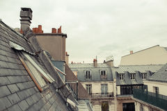 Paris. View of the city roofs Stock Photography
