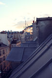 Paris. View of the city roofs Stock Photo