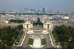 Paris,view from Eifell tower Stock Images