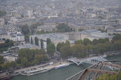 Paris view from Eiffel Tower !!! Royalty Free Stock Image