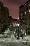 Paris view from Montmartre Stock Images