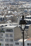 Paris,a view from Montmartre Stock Photography