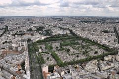Paris view from Montparnasse Stock Photo