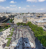 Paris view from Notre Dame Stock Image