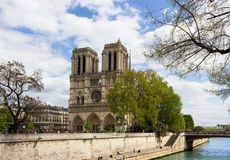 Paris view from Notre Dame Royalty Free Stock Photography