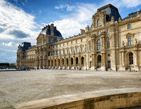 Louvre Museum in Paris Royalty Free Stock Photo