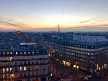 Paris. View rooftop Royalty Free Stock Photos