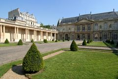 Paris-Villa lizenzfreie stockfotos