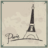 Paris Vintage Background Stock Images
