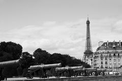 Paris - Vintage cityscape Royalty Free Stock Images