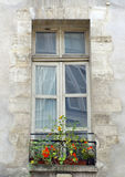Paris - Vintage Window Stock Photo