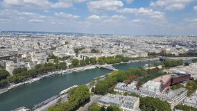 Paris visitant le pays Photographie stock