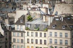 Paris vista de cima de fotos de stock