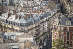 Paris vista de cima de Fotografia de Stock Royalty Free