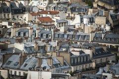 Paris vista de cima de foto de stock