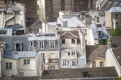 Paris vista de cima de imagens de stock royalty free