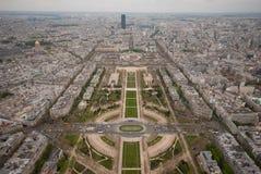 Paris vom Eiffell Kontrollturm Lizenzfreie Stockfotografie