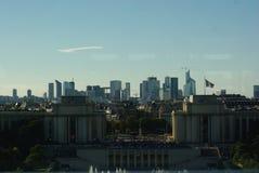 Paris vom Eiffelturm stockfotos