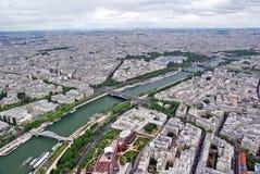 Paris vom Himmel Stockbilder