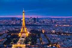 Paris von den Spitzen2 Lizenzfreies Stockfoto