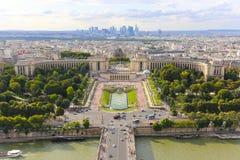 Paris von der Oberseite Lizenzfreie Stockfotografie