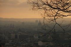 Paris von Sacre Cour Lizenzfreies Stockbild